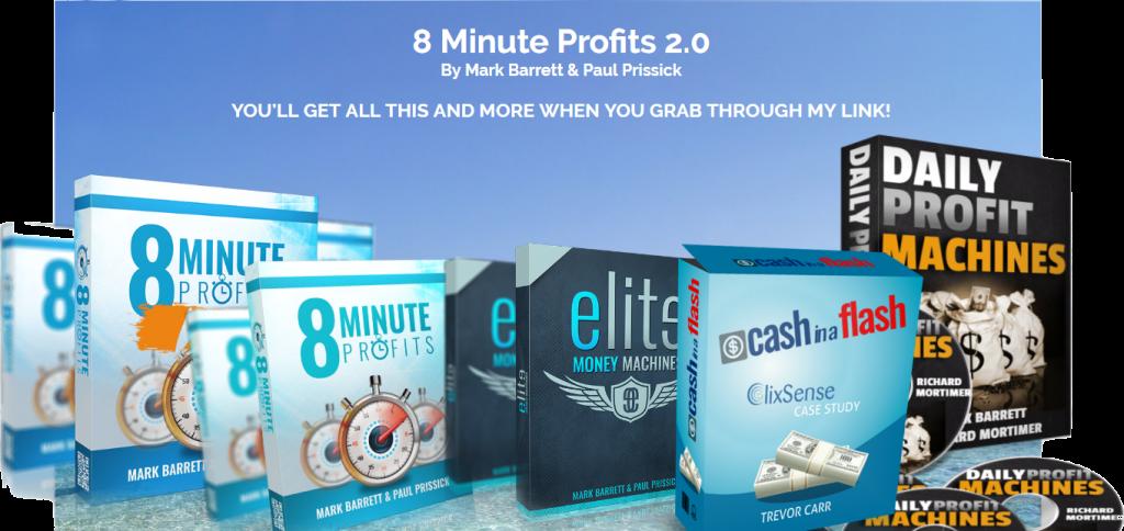 8 Minute Profits 2.0 Bonuses