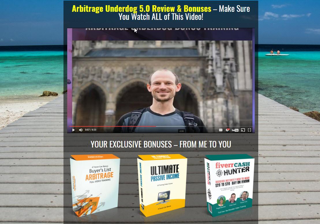 Underdog Arbitrage 5.0 Review & Exclusive Bonuses