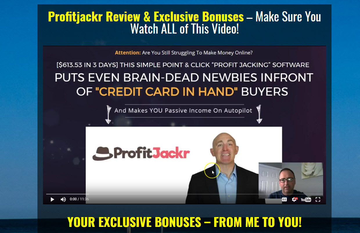 Profitjackr Review & Exclusive Bonuses