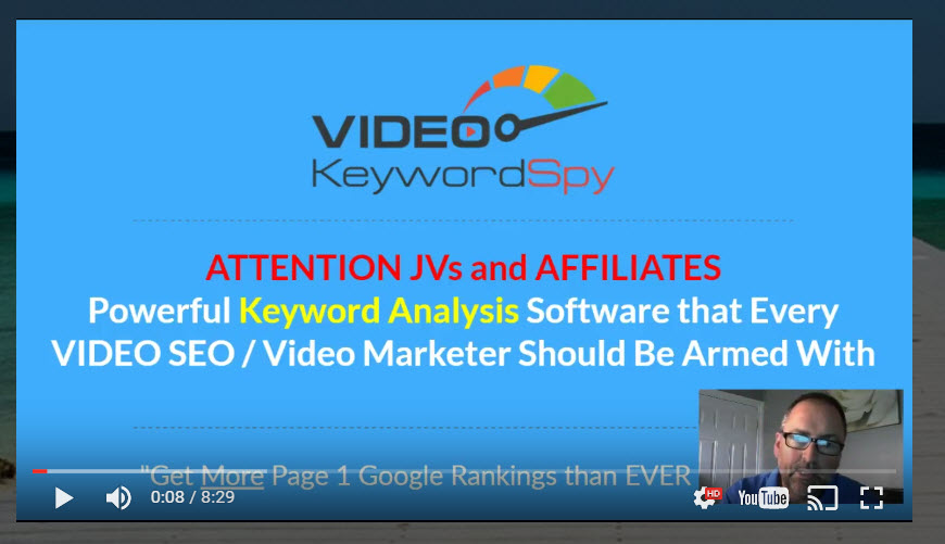 Video Keyword Spy Review & Exclusive Bonuses