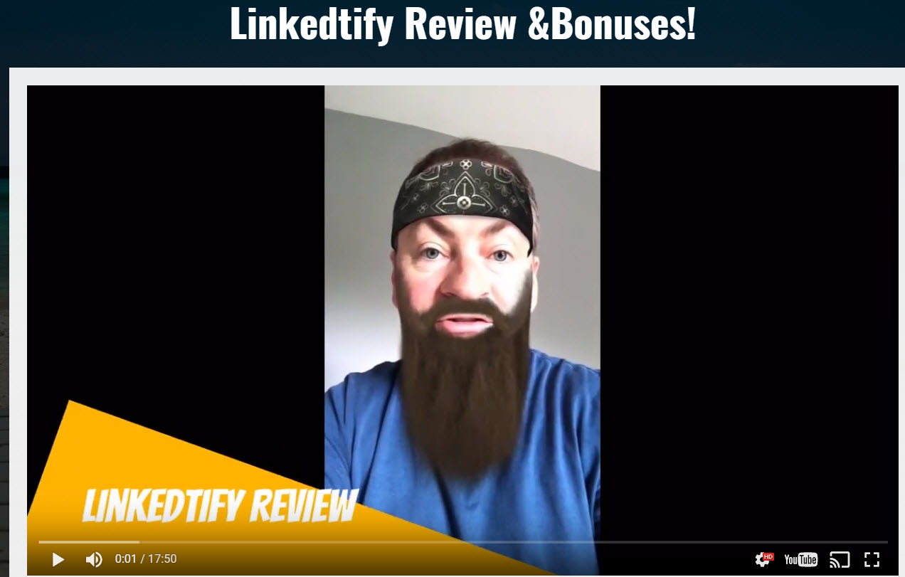 Linkedtify Review & Bonuses