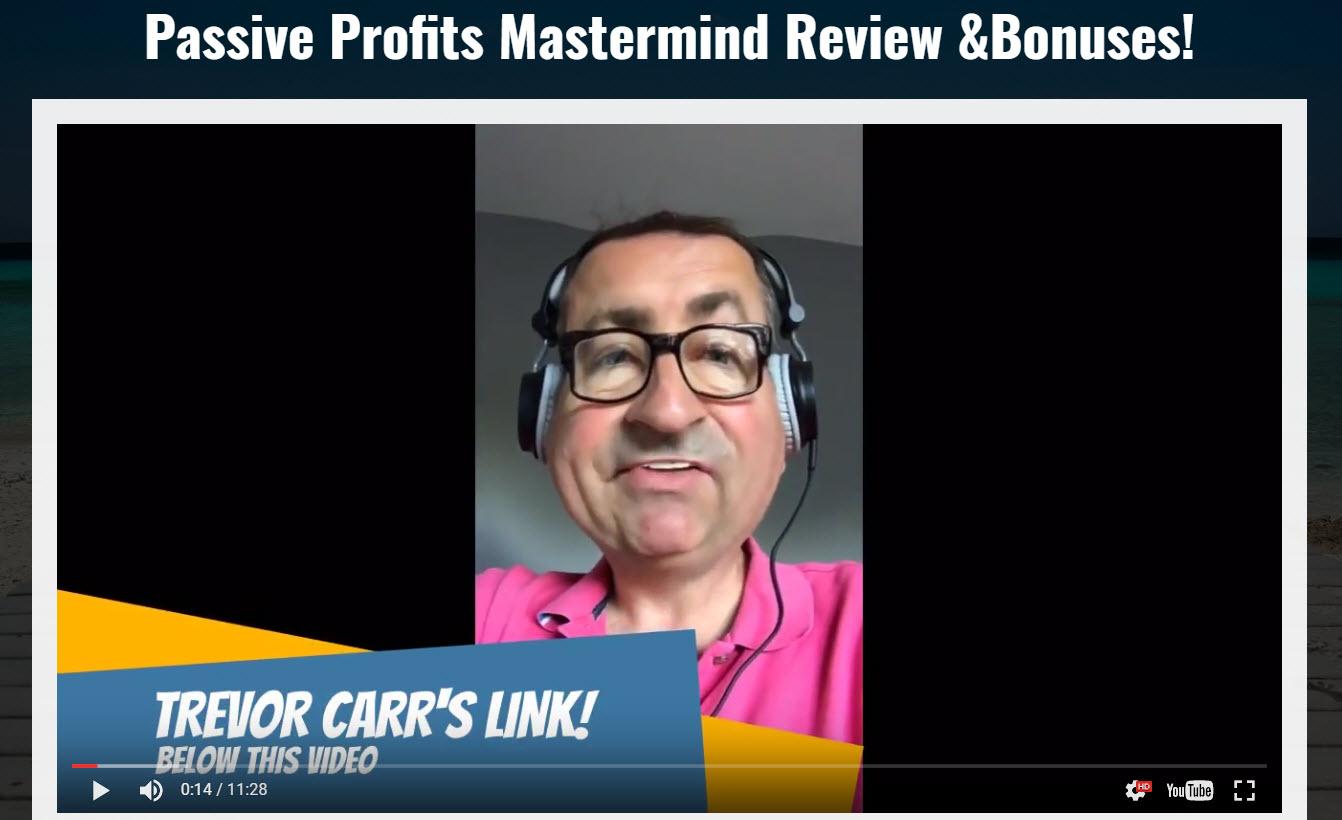 Passive Profits Masterclass Review & Bonuses