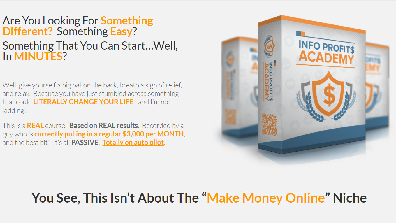 Info Profits Academy Review & Bonuses