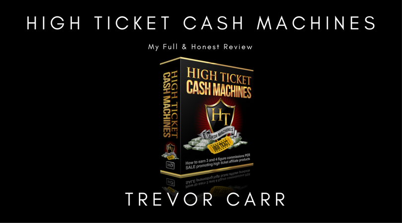 High Ticket Cash Machines Review & Bonuses