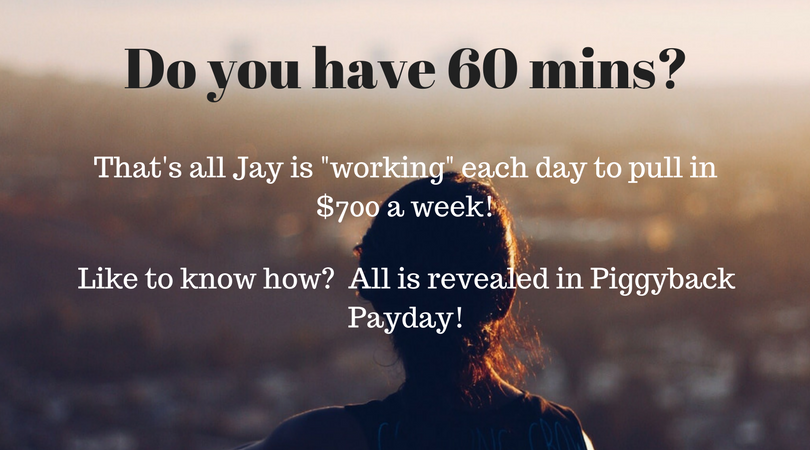 One hour a day? Could you manage that?
