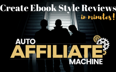 Auto Affiliate Machine Review & Bonuses