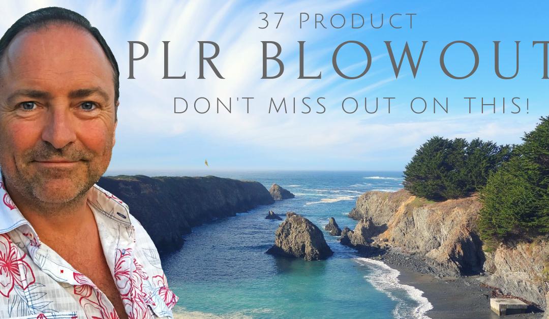 2018 PLR Blowout Sale
