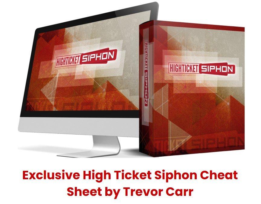 high ticket siphon cheat sheet