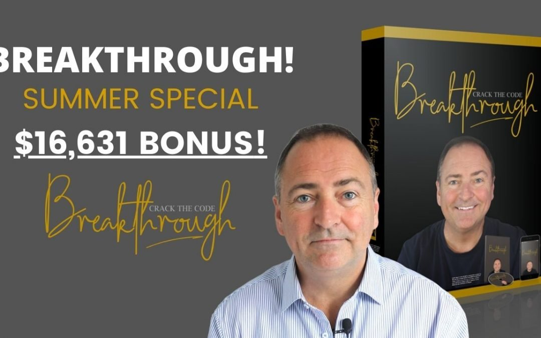 Breakthrough VIP Summer Bonus